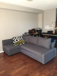 IKEA FRIHETEN SOFA BED WITH STORAGE