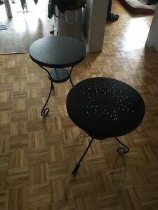Tables de chevet / salon