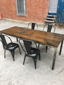 Craftsman Dining Room Table And Chairs Designed By Jake Logo