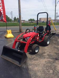 2013 Mahindra eMax25 HST Tractor