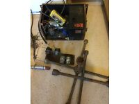Hydraulic pump plus Lorry wheel braces