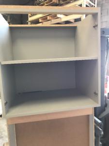 3 Kitchen Cupboards with doors