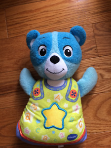VTech Soothing Song Bear Blue - FRENCH