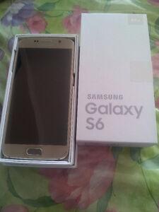 New Unlocked Samsung Galaxy S6 SM-G920W8 64gb Gold Color