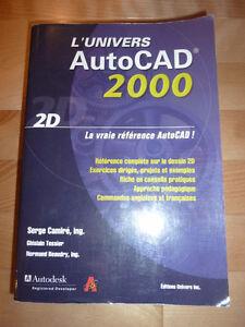 Livre  L'univers Autocad 2000