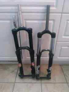 Bike parts, forks, and grips! ...updated ...more parts added
