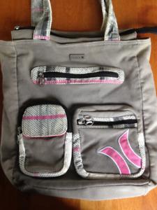 Hurley Bag and a Messenger Bag