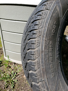 Goodyear Winter Tires 225 65 R17
