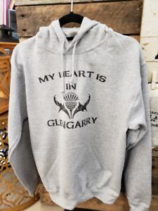 Glengarry Sweatshirts, signs, socks