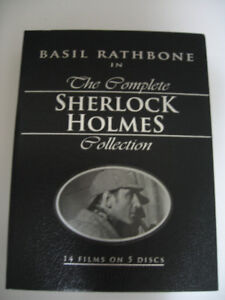 The Complete Sherlock Holmes Collection (5 DVD disks)
