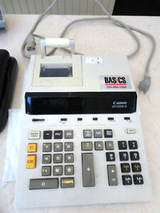 Canon BP-1225-D Desktop Calculator Adding machine -Works perfect Kitchener / Waterloo Kitchener Area image 1