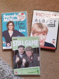 Comedy bundle dvds £4