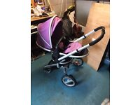 Silver cross surf with silver cross car seat