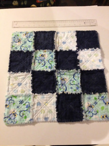 Toddler's New Quilted Cotton Comfort Blanket