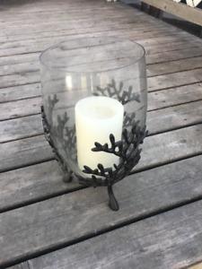 Glass Vase Candle Holder