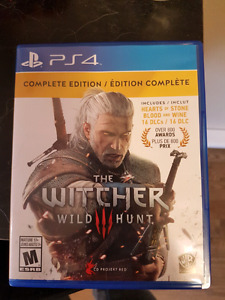 Witcher 3 Complete Edition (PS4)