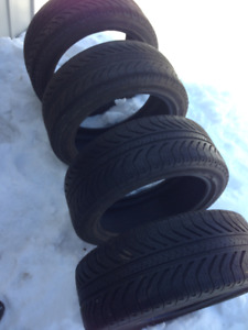 225 45 17 Michelin 4 USED SUMMER TIRES