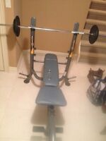 Home gym multi-use bench