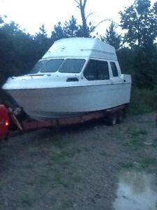Boat cabin cruiser REDUCED