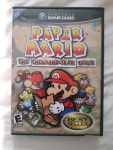 a vendre paper mario the thousand year door