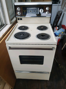 Older appartment size stove