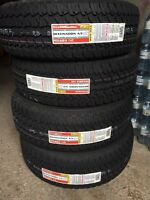 New! Never used! 275/65/18 tires