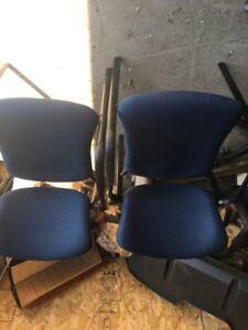 Office chairs in nice shape