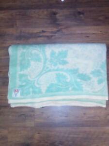 Vintage WOOL blanket PvZ