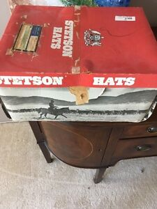 Original 1960s Stetson hat never worn 6 7/8