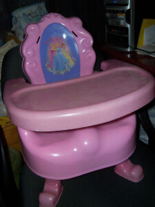 Very cute booster seat, lost straps, otherwise great condition