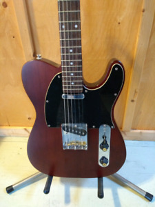 Standard Squier Telecaster with upgrades