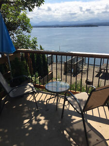 Gulf Island short term  waterfront apt with southwest  exp/view