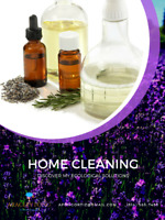 Ecological Home Cleaning - Appointments available