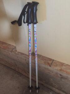 Techno Pro Ski Poles for girls - 80 cm