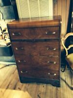 """WATERFRONT"" CHEST OF DRAWERS & HEADBOARD"