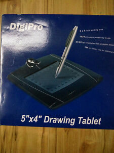 """NEW DigiPro 5"""" x 4"""" Drawing Tablet"""