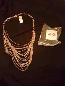 Necklace and earrings Windsor Region Ontario image 1