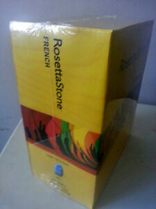 Rosetta Stone French Version 3 levels 1-5 Brand New Sealed!!