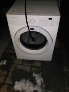 Washer and dryer make an offer