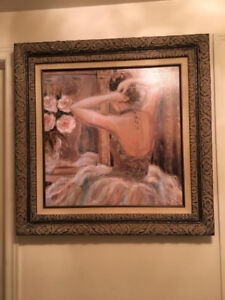KAREN DUPRE FRAMED PAINTING