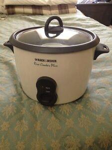 Black & Decker Rice Cooker Plus 16 cup