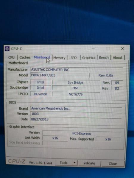Asus P8h61 Mx Usb3 Graphics Card