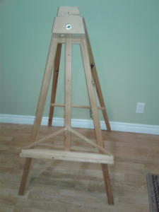 hand built large stand up easel