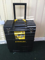 Stanley tool boxes on wheels (8) $100 each