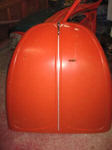 73-79 Volkswagen Super Beetle Hood - Orange