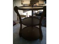 Large cake stand or can b used as side table on floor