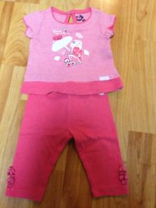 vêtements fille nouveau-né et 0-3 mois