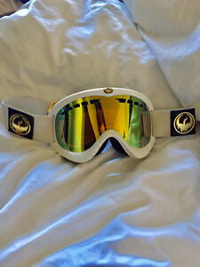 Womens white dragon goggles - great shape