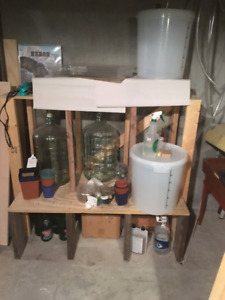 Home-brew beer making equipment for sale - cool hamilton bottles