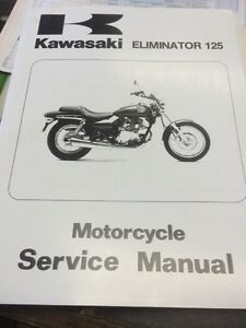 Kawasaki eliminator 125 manual